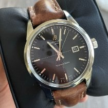 Breitling Transocean pre-owned 43mm Black Date Fold clasp