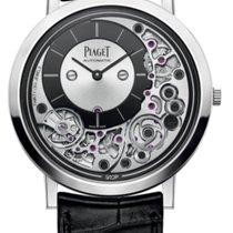 Piaget новые Автоподзавод Оригинальное состояние/подлинные части 41mm Белое золото Сапфировое стекло