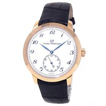 Girard Perregaux 49534-52-711-BK6A Rose gold 2000 1966 40mm pre-owned United States of America, New York, New York