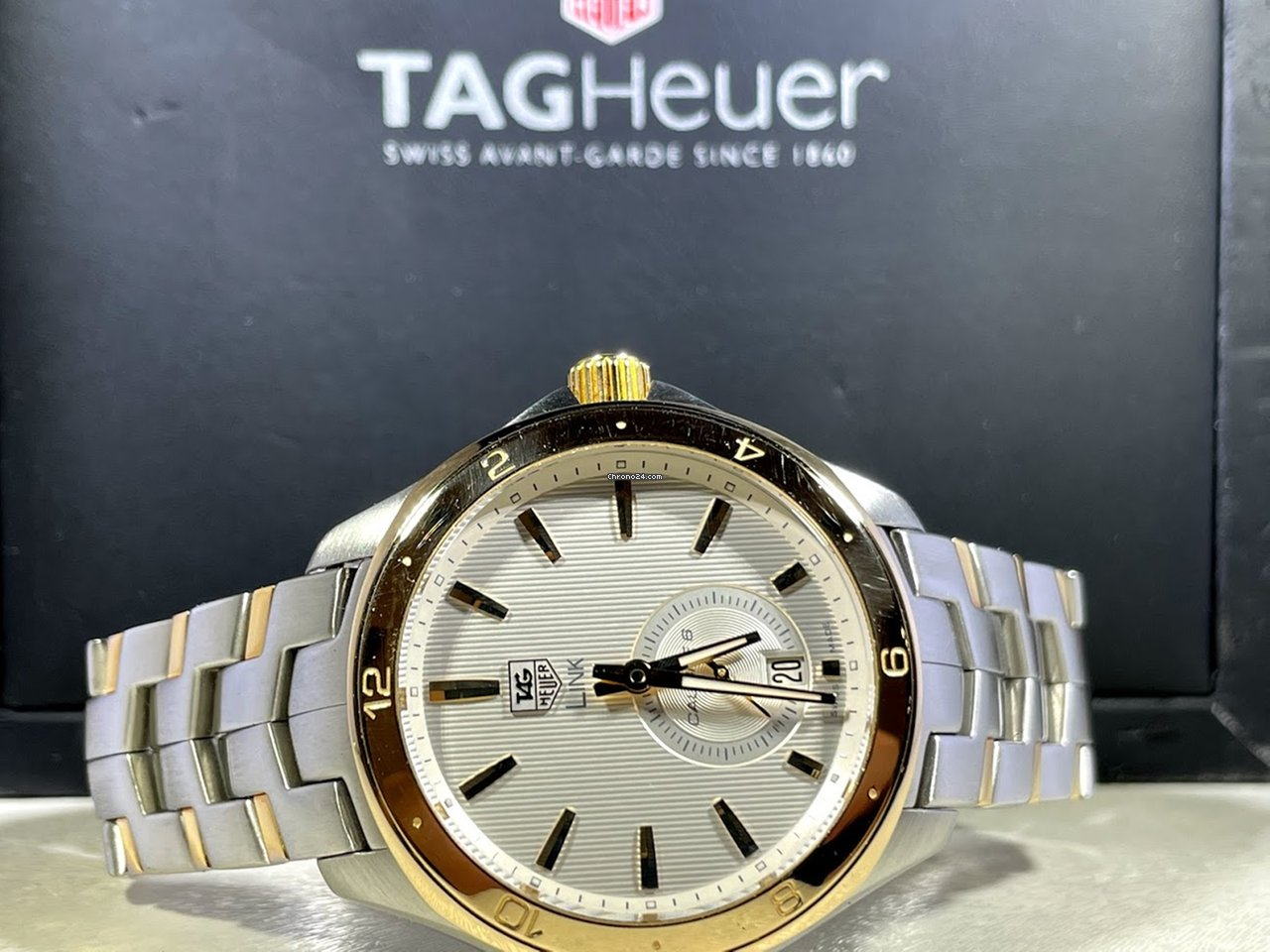 TAG Heuer Link Calibre 6 wat2150.bb0953 pre-owned