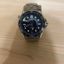 Omega Seamaster Diver 300 M Сталь 42mm Синий Без цифр Россия, Волгодонск