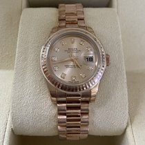 Rolex Rose gold Automatic 26mm new Lady-Datejust