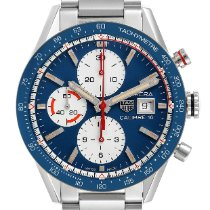 TAG Heuer Carrera Calibre 16 new 2019 Automatic Chronograph Watch with original box and original papers CV201AR.BA0715