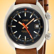 Oris Chronoris Steel 39mm Black United States of America, Illinois, Northfield