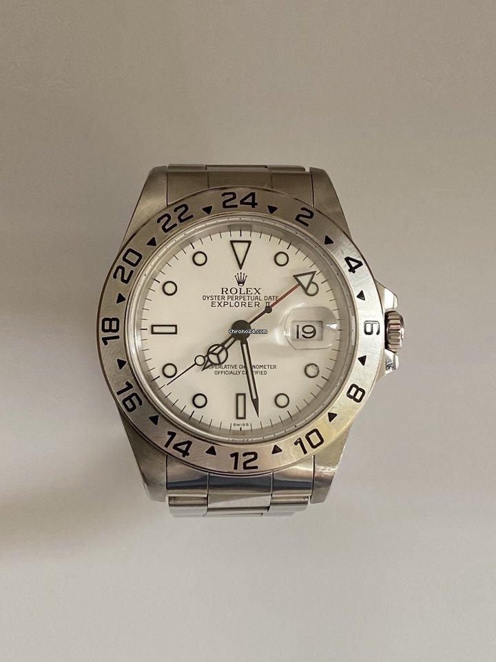Rolex Explorer II 16570 1998 подержанные
