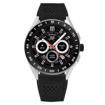 TAG Heuer Steel Black 45mm new Connected