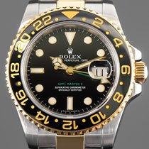 Rolex (ロレックス) GMT マスター II ゴールド/スチール 40mm ブラック 文字盤無し