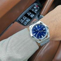 Vacheron Constantin Overseas Steel Blue No numerals Canada, toronto