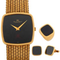 IWC Yellow gold Black pre-owned