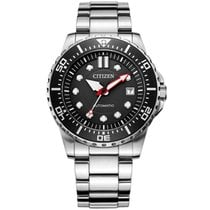 Citizen Watch new Steel 43 mmmm No numerals Automatic Watch with original box and original papers