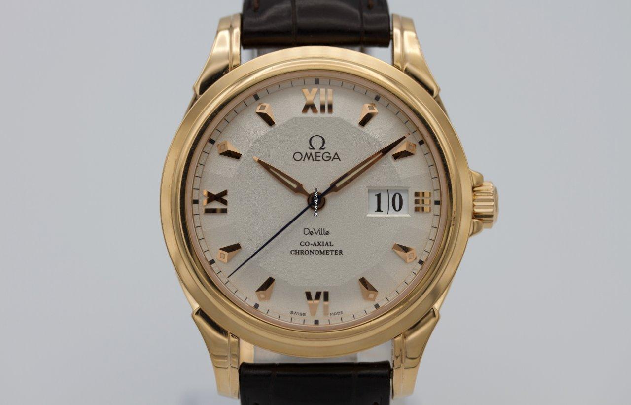 Omega De Ville Co-Axial 4644.30.32 pre-owned