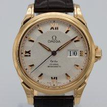 Omega De Ville Co-Axial Kımızı altın 38mm Gümüş