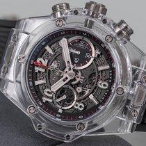 Hublot Big Bang Unico nuevo 2021 Automático Cronógrafo Reloj con estuche y documentos originales 411.JX.1170.RX