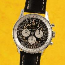 Breitling Navitimer Cosmonaute Steel 41.5mm Black