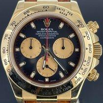 Rolex Daytona Or jaune 40mm Noir Arabes Belgique, Antwerpen