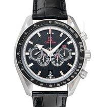 Omega Speedmaster Broad Arrow nuevo 2021 Automático Reloj con estuche y documentos originales 321.33.44.52.01.001