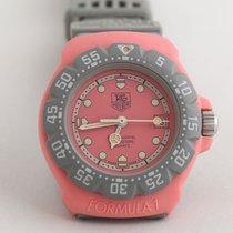 TAG Heuer Plastic Quartz Pink No numerals pre-owned Formula 1 Lady