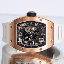 Richard Mille RM 010 Rose gold 48mm Transparent Arabic numerals