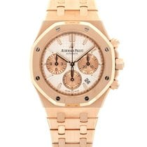 Audemars Piguet Royal Oak Chronograph Red gold 38mm Silver United States of America, California, Beverly Hills