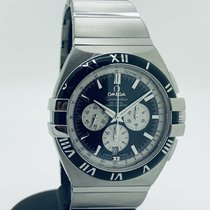 Omega Constellation Double Eagle Steel 41mm Black No numerals
