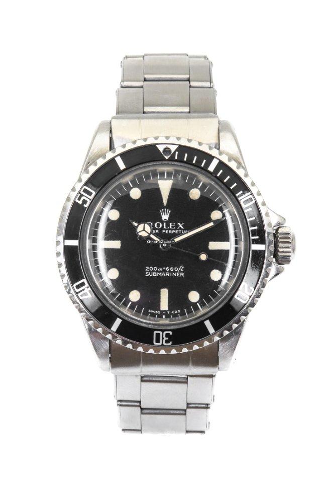 Rolex Submariner (No Date) 5513 1969 tweedehands