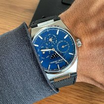 Frederique Constant Manufacture Slimline Perpetual Calendar Steel 41mm Blue