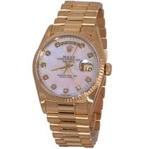 Rolex Day-Date 36 Yellow gold 36mm White No numerals United States of America, Florida, Fort Lauderdale