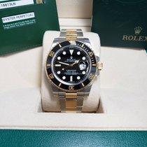 Rolex Submariner Date Gold/Steel 40mm Black No numerals United States of America, Michigan, Michigan
