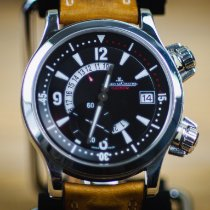 Jaeger-LeCoultre Master Compressor GMT Steel 41.5mm Black Arabic numerals United States of America, Texas, Fort Worth