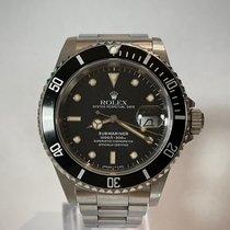 Rolex Submariner Date 16610 Sehr gut Stahl 40mm Automatik Schweiz, Chiasso