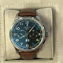 Zenith Steel Automatic 42mm pre-owned Pilot Type 20