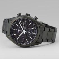 Seiko new Quartz Small seconds Chronometer Luminous indices 41.4mm Steel Sapphire crystal