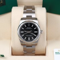 Rolex Oyster Perpetual 34 Steel 34mm Black United States of America, California, Los Angeles