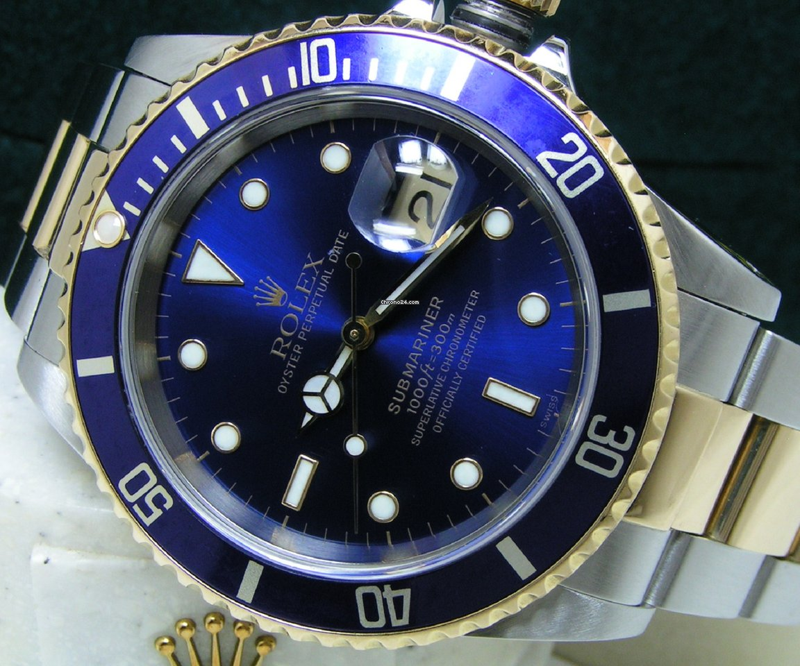 Rolex Submariner Date 16613 Sultan 1999 pre-owned