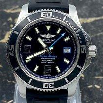 Breitling Superocean 44 Steel 44mm Black Arabic numerals