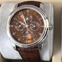 Blancpain Le Brassus Platinum 42mm Brown Roman numerals United States of America, California, Newport Beach