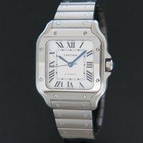 Cartier Santos (submodel) Staal 35mm Zilver Nederland, Maastricht