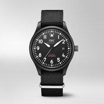 万国 Pilot Chronograph Top Gun 陶瓷 41mm 黑色 阿拉伯数字