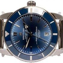 Breitling Superocean Heritage II 42 Acero 42,00mm Azul Sin cifras