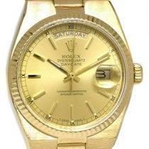 Rolex Day-Date Oysterquartz Yellow gold 36mm Champagne No numerals United States of America, Florida, Boca Raton