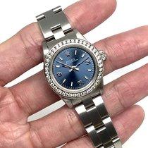 Rolex Oyster Perpetual 26 Steel 25mm Blue Thailand, Bangkok
