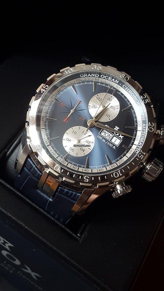 Edox Grand Ocean ED01121-357B-BUIN 2020 новые