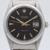 Rolex Oyster Precision Acciaio 34mm Nero Senza numeri Italia, Roma, eOrologi