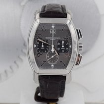 Vacheron Constantin Steel Automatic Silver Arabic numerals pre-owned Royal Eagle