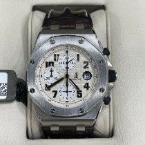 Audemars Piguet Royal Oak Offshore Chronograph pre-owned 42mm White Chronograph Date Buckle