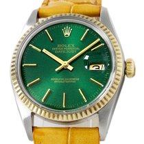 Rolex Datejust Gold/Steel 36mm Green No numerals United States of America, Utah, Draper