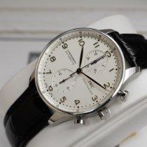 IWC Portuguese Chronograph Acciaio 41mm Bianco Arabi Italia, BOLOGNA