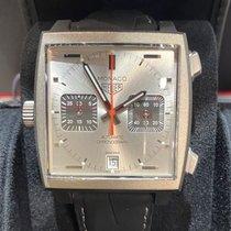 TAG Heuer Titânio Automático Prata 39mm novo Monaco