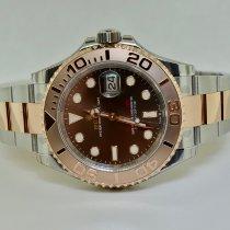 Rolex Yacht-Master 40 Gold/Steel 40mm Brown No numerals United States of America, New York, Massapequa