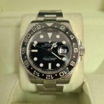Rolex (ロレックス) GMT マスター II ステンレス 40mm ブラック 文字盤無し